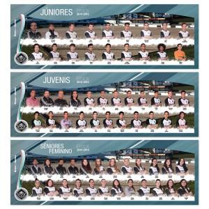 3x mega posters de equipa argoncilhe