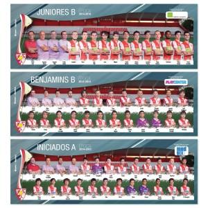 3x mega posters de equipa avintes